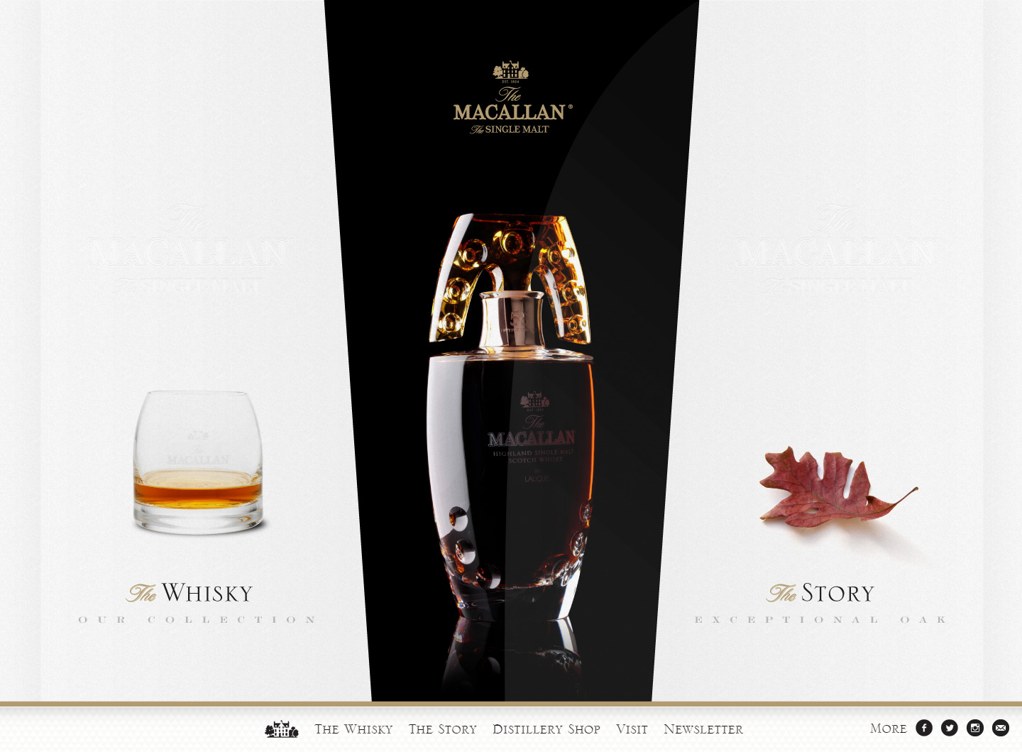The Macallan Homepage