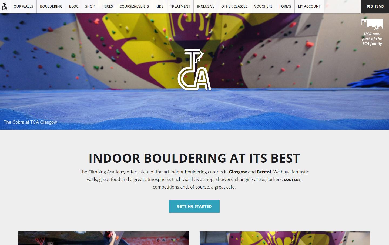 TCA Homepage