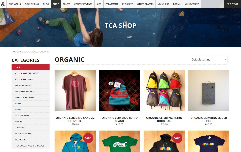 TCA Shop