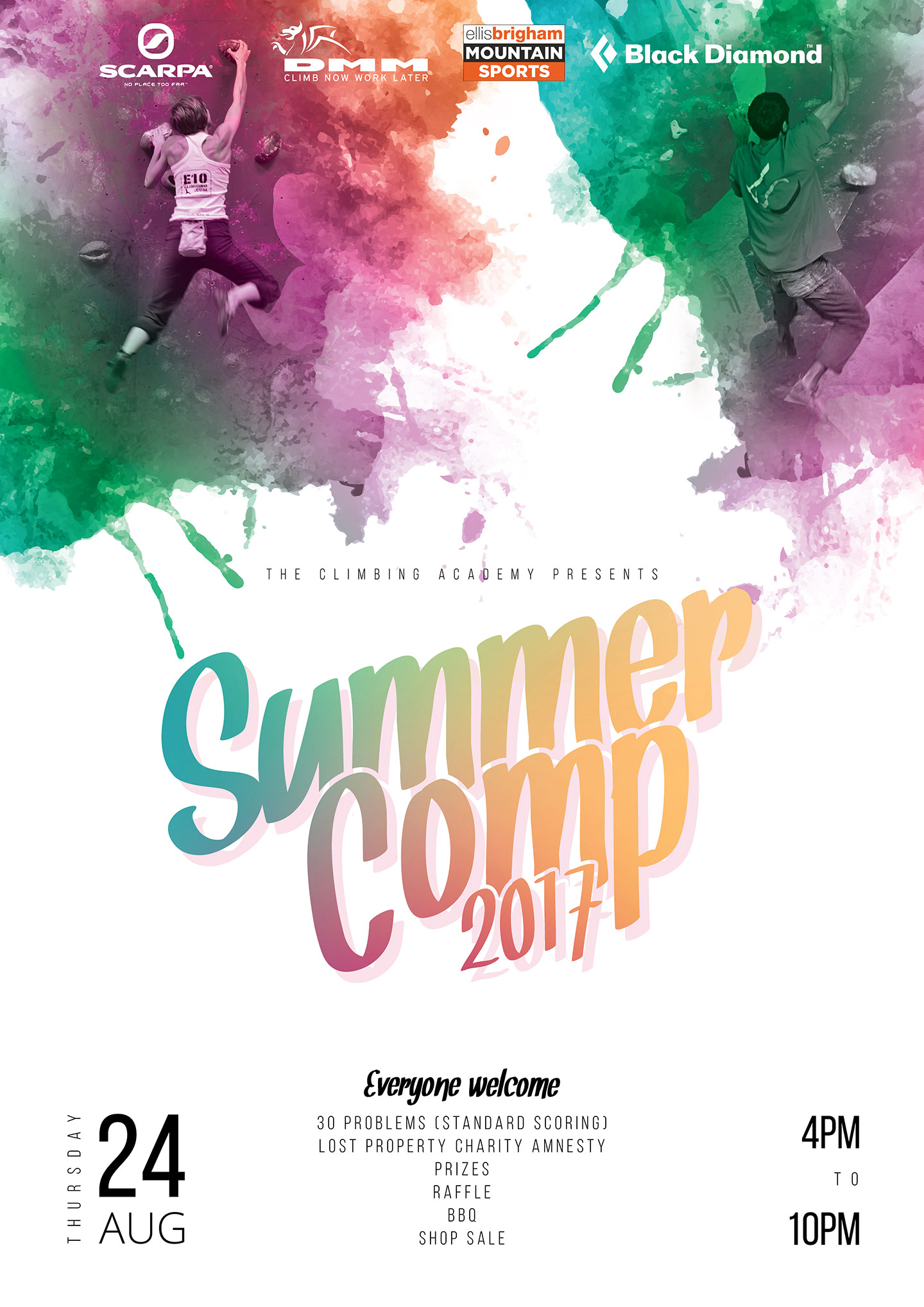 TCA Summer Comp Poster